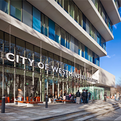 Image of the City of Westminster College, Paddington Green Campus